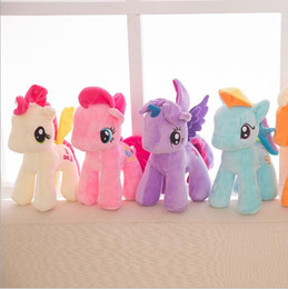 $enCountryForm.capitalKeyWord Australia - 20cm High Quality lovely Little Horse Plush Doll Unicorn Horse Toys for Children Kids Birthday Christmas Gifts