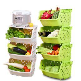 $enCountryForm.capitalKeyWord Australia - Plastic Storage Basket Kitchen Vegetable and Fruit Storage Basket Bathroom Storage Container Household Goods