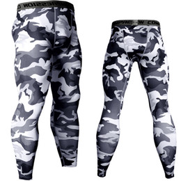 leggings camouflage Australia - Camouflage Army Green Joggers Leggings Men Quick Dry Compression Pants Gyms Fitness Tights Sportswear Casual Training Trousers