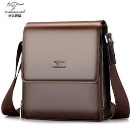 Vertical briefcase bag online shopping - New man vertical pu leather bag men s commercial men s briefcase bags high quality handbag IPAD shoulder business