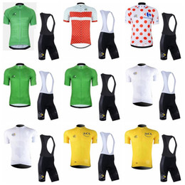 $enCountryForm.capitalKeyWord Australia - TOUR DE FRANCE team Cycling Short Sleeves jersey (bib) shorts sets pro team spring summer MTB bicycle clothing 90434J