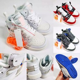 $enCountryForm.capitalKeyWord Canada - Jointly Signed High OG 1s Kids Basketball shoes Chicago 1 Infant Boy Girl Sneaker Toddlers New Born Baby Trainers Children footwear