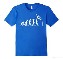 Men Pole Australia - New Fashion Men T-shirt Evolution pole vault T-Shirt Loose Clothes Design Short Sleeve Tee Shirt