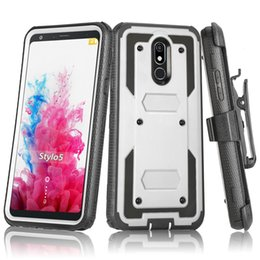 $enCountryForm.capitalKeyWord Australia - For Motorola E6 Z4 G7 Play Plus Heavy Duty Shockproof Holster swivel Belt Clip Rotatable Kickstand Defender Phone Case Cover