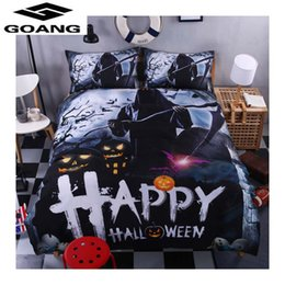 TexTile digiTal prinTing online shopping - GOANG Nightmare before christmas d digital printing bedding sets bed sheet duvet cover and pillowcase home textiles bedding