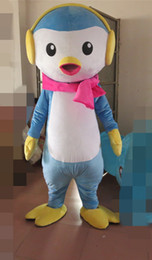 Adult Factory Clothes Australia - Latest high quality Factory Direct New blue clothing Penguin Pilots Fancy Dress Mascot Costume Adult Holiday special clothing