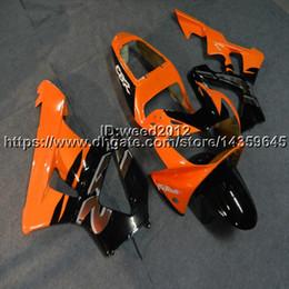 929 Motorcycle Australia - Custom-color+5Gifts Injection mold orange black motorcycle Fairings for HONDA CBR929RR 2000-2001 CBR 929 RR 00 01 ABS motor panels