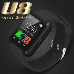 Bluetooth Smart Watch Sim Australia - Bluetooth Smart Watch U8 Wireless Bluetooth Smartwatches Touch Screen Smart Wrist Watch With SIM Card Slot For Android IOS With Retail Box
