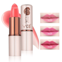 shades lipsticks Australia - Shade Nude Crystal Jelly Lipstick Lip Makeup Moistening Long Lasting Temperature Controlled Color Changing Lipstick #ZF