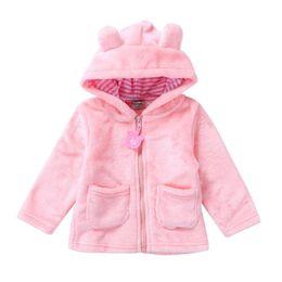 $enCountryForm.capitalKeyWord Australia - Autumn Winter Baby Girls Sweet Long Sleeve Hooded Thick Warm Jackets Kids Infant Princess Outerwear Coats ropa de