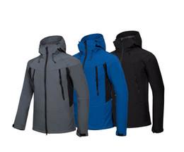 Kids Jackets S Letter UK - New 2019 Autumn Winter Womens Fleece Jackets Coats High Quality Brand Windproof Warm Soft Shell Sportswear Women Men Kids Coats
