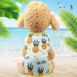 $enCountryForm.capitalKeyWord Australia - Cheap Dog Vest Summer Pet Clothes For Dogs Cat Vest Shirt Clothing For Dogs Costume Small Medium Dog Clothes Chihuahua Yorkshire