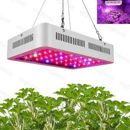 Ingrosso Grow Light 600W 1000W 1200W 1500W Tenda a spettro completo coperto Case verde Case lampada Pianta AC85-265V Illuminazione interna per la veg Fioritura alluminio DHL DHL