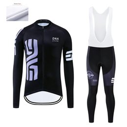 Discount anti thermal clothing - DNA Cycling Men's Winter Cycling Jerseys Sets Ropa Ciclismo Thermal fleece Clothing Wear Bike Pants With 12D Padded