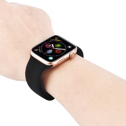 Chinese  44mm Goophone Watch 4 Aluminum Alloy Digital Crown Wireless Charge MTK2502 Bluetooth Control Real Time Heart Rate Monitor for iPhone XS Max manufacturers