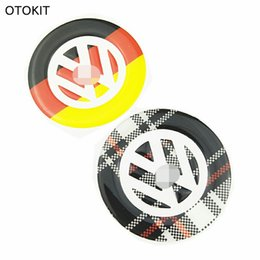 Marca Cool Germania Bandiera Scozia Lattice Car Sticker Copertura del Volante per VW Golf 6 Golf 7 CC R36 Magotan-B6 New Polo