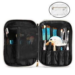 $enCountryForm.capitalKeyWord Australia - Marbling Travel Cosmetic Bag Household Waterproof PU Storage Bag Outdoor Portable Utility Toiletry Case Pouch Korean Style 10 Pieces DHL