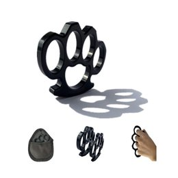 $enCountryForm.capitalKeyWord NZ - Send bag knuckle dusters black thin section 113 * 63 * 8mm wild survival self-defense joint protection tactical accessories