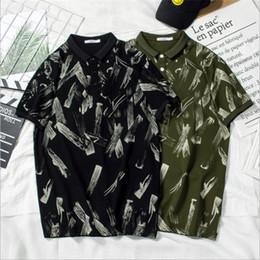 $enCountryForm.capitalKeyWord NZ - Fashion Designer Polo For Mens T shirts Summer Brand Mens Polo Shirts Short Sleeve Men T Shirts High Quality Casual T Black and Green color