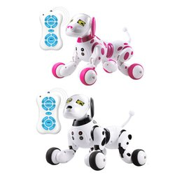 smart pet toys 2020 - Wireless Remote Control Intelligent Robot Dog Children's Smart Toys Talking Dog Robot Electronic Pet Toy Birthday G