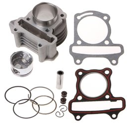 $enCountryForm.capitalKeyWord Australia - 47mm Big Bore Kit Cylinder Piston Rings fit for GY6 50cc to 80cc 4 Stroke Scooter Moped ATV with 139QMB 139QMA Engine