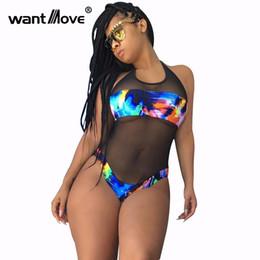 0ac4c2807 Exotic Swimwear Australia - 2019 Hot Sale Exotic designer sexy bodysuit  women sleeveless lace rompers novelty