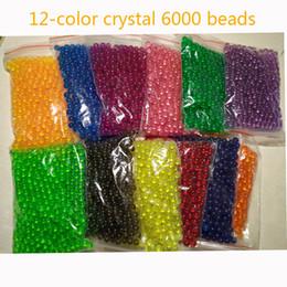 $enCountryForm.capitalKeyWord Australia - 500pcs bag 12colors Water Stick DIY Magic Beads Ball Aqua Jouets Perler Hama Pixels Magic Beads Jigsaw Puzzle Educational toy