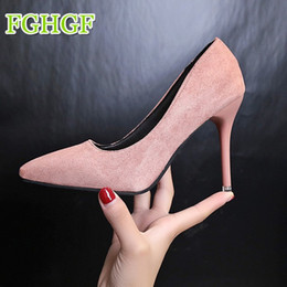 Sexy Designer Shoes For Women NZ - Designer Dress Shoes Women Pumps. High Heels 10cm Stiletto Pointed Toe Woman Sexy Party Nude Heels for Women Plus Size 33-43