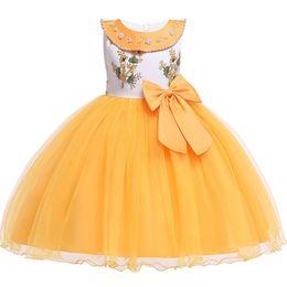 $enCountryForm.capitalKeyWord Australia - Flower Girls Wedding Dress 2019 Summer Baby Girls Princess Dress Kids Party Dresses For Girls Clothing Children Costume 2-12 Y