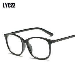 d43e2c3589 LYCZZ Cheap New Retro Round Eyeglasses Frames Eyewear Women Men Fashion  Computer opticos Glasses Frame Vintage Spectacle Frame