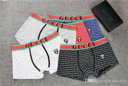 Latest underwear online shopping - The latest men s striped underwear cotton shorts color breathable boxer shorts men s underwear sexy men s underwear men fdgf