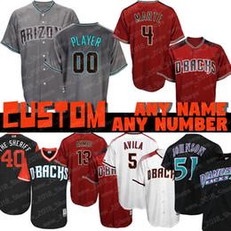 1adfaeef ArizonA diAmondbAcks jersey online shopping - Custom Randy Johnson Diamondbacks  jersey Arizona Ketel Marte Zack Greinke