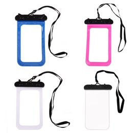 $enCountryForm.capitalKeyWord NZ - Sealing Waterproof Mobile Phone Bags with Strap Protect Bag Dry Pouch for iPhone Case Cover 5.8inch Smart Phone Swimming Bags