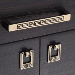 $enCountryForm.capitalKeyWord NZ - Vintage Zinc alloy Cabinet Kitchen Knobs Pull Handle Bronze style Dresser Drawer Cupboard knob Pull Handle Furniture hardware free shipping