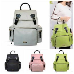 $enCountryForm.capitalKeyWord NZ - Landuo Mommy Backpacks 5 Colors Baby Waterproof Travel Diaper Bags Mother Large Capacity Outdoor Maternity Organizer Bags Ooa5515