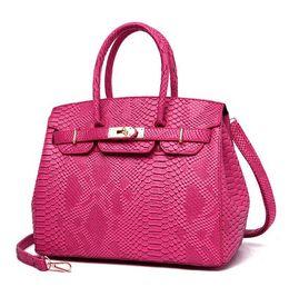 $enCountryForm.capitalKeyWord UK - Europe and the United States big bag female bag 2019 new personality handbag snake-skinned cross-body shoulder bag