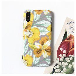 coque iphone x coque de telephone portable creative iphone 678plus coque de protection peint en Solde