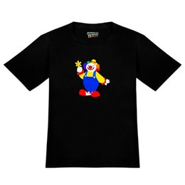 $enCountryForm.capitalKeyWord UK - Clown with Flower and Big Shoes Men's Novelty T-Shirt Tees Custom Jersey t shirt