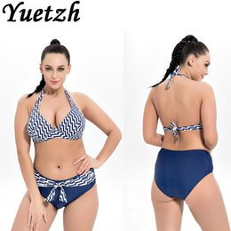 $enCountryForm.capitalKeyWord Australia - new Mid wait bikini sexy women plus size swimwear larges size swimming suit swimsuit beachwear bathing wear swim suit big