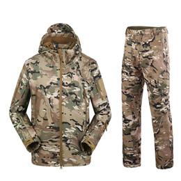$enCountryForm.capitalKeyWord UK - TAD Camouflage Tactical Suits Winter Autumn Waterproof Fleece Shark Skin Soft Shell Jacket Set Men Outwear BF05