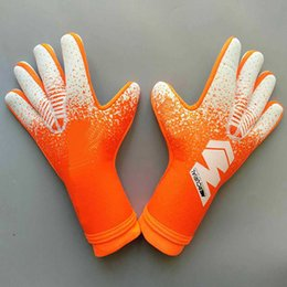 soccer mittens NZ - 2019 football goal keeper thickened without finger guard goalie soccer gloves