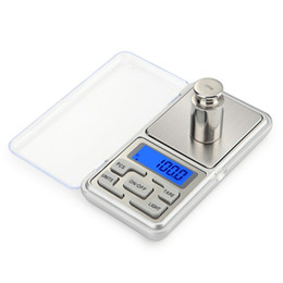 electronic digital jewelry scales UK - 100 200 300  500g X 0.01g 0.1g Mini Pocket Digital Scale For Gold Sterling Silver Jewelry Scales Balance Gram Electronic Scales