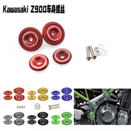 aluminum alloy body Canada - Modified Motorcycle Color Screw Kawasaki Kawasaki Z900 Body Decoration Screw Cover Aluminum Alloy Accessories