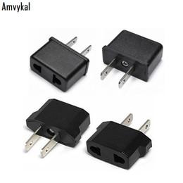 Power Socket Eu Australia - Amvykal International Universal EU To US Plug Adapter Converter USA America Travel Charger AC Power Electrical Socket Plug Adaptor