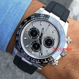 Black gold winner watch online shopping - Rubber Strap Asia Rose Gold Gray LN Luxury Mens Automatic Watch Fashion Casual Reloj Watches Wristwatches