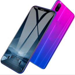 6.2 pouces Goophone X21 1 Go de RAM 16 Go de ROM empreinte digitale de téléphone portable MT6580P Quad core Dual sim smartphone débloqué X77