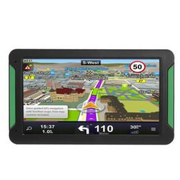 Gps Car Portable Australia - S7 7 Inch Touch Screen Car Truck GPS Navigation Portable GPS Navigator