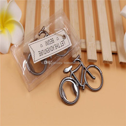 Pack Supplies Australia - Wedding Favor Gifts Creative Alloy Bicycle Beer bottle opener PCV Box Packing Party Supplies DHL Free Shipping