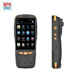 Terminal daTa online shopping - 4g data collector NFC reader handheld barcode scanner pda terminal with keyboard