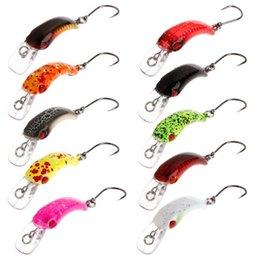 Trout Fish Hooks Australia - New Fishing Bait Mini Minnow 3.7cm 1.5g Artificial Hard Lure Sharp Hook Crankbait Wobbler Tackle Trout Freshwater Accessories